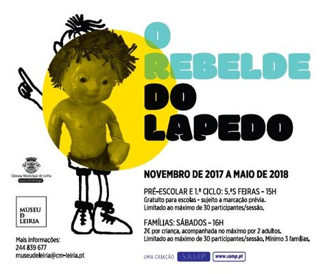 Cartaz o rebelde do lapedo 1 675 400